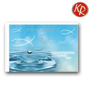Faltkarte Taufe 31-0287