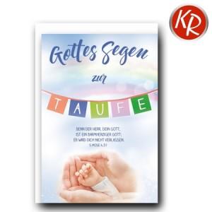 Faltkarte Taufe 31-0289