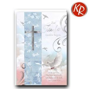 Faltkarte Taufe 31-0290
