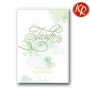 Faltkarte Taufe 31-0292