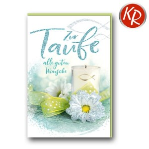 Faltkarte Taufe 31-0293
