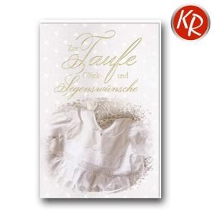 Faltkarte Taufe 31-0294