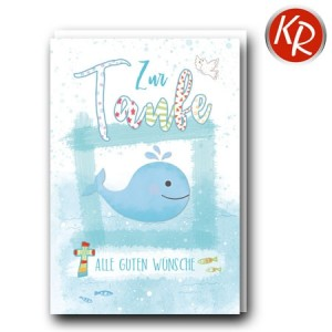 Faltkarte Taufe 31-0305