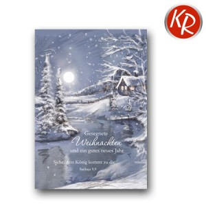 Midikärtchen Weihnachten 36-1408