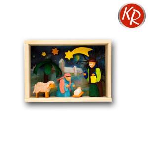 Miniaturkästchen Krippe 3719