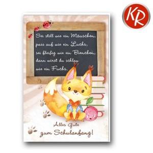 Faltkarte Schulanfang 38-0081