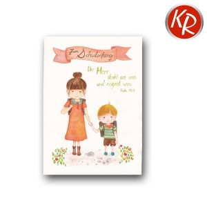 Postkarte Schulanfang 39-0009