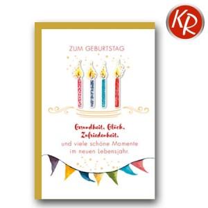 Faltkarte Geburtstag 40-0450
