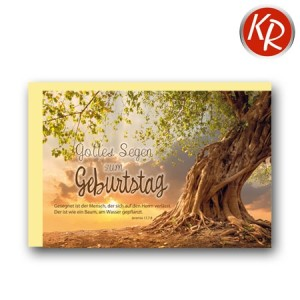 Faltkarte Geburtstag 40-0486