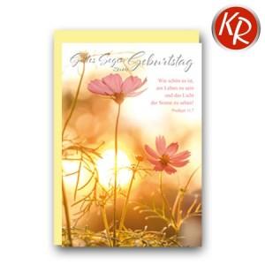 Faltkarte Geburtstag 40-0493