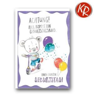 Faltkarte Geburtstag 40-0523
