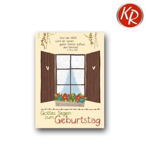 Postkarte Geburtstag 41-0101
