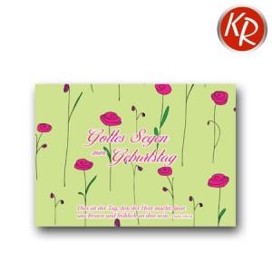 Postkarte Geburtstag 41-0130
