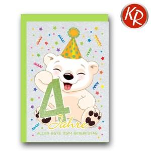 Faltkarte zum 3. Geburtstag  45-7304