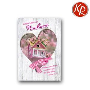 Faltkarte Hochzeit  51-0143