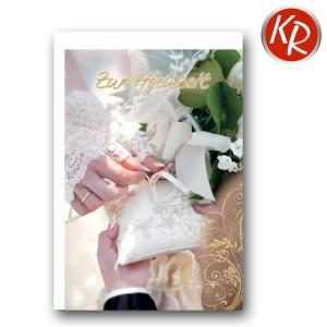 Faltkarte Hochzeit  51-0176