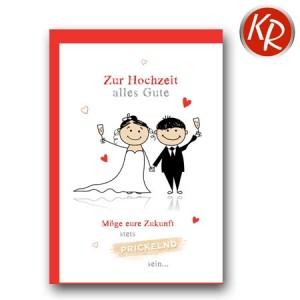 Faltkarte Hochzeit  51-0182
