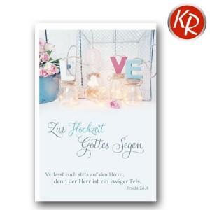 Faltkarte Hochzeit  51-0191