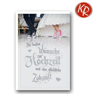 Faltkarte Hochzeit  51-0195