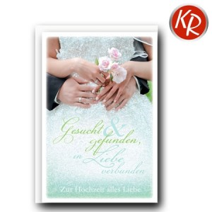 Faltkarte Hochzeit  51-0200