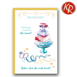 Faltkarte Hochzeit 51-0203