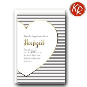 Faltkarte Hochzeit  51-0205