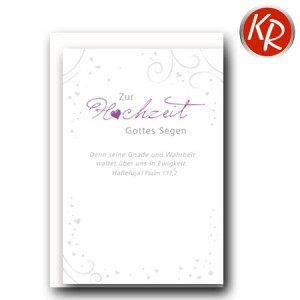 Faltkarte Hochzeit  51-0206