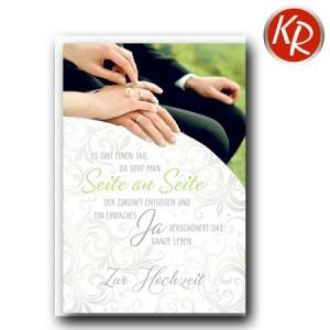 Faltkarte Hochzeit  51-0207