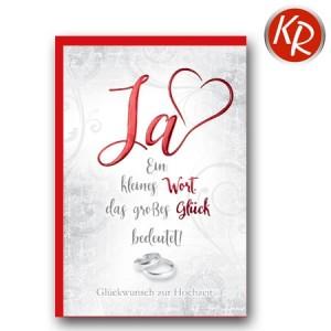 Faltkarte Hochzeit  51-0212