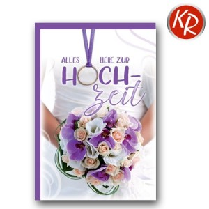 Faltkarte Hochzeit  51-0213