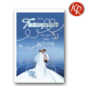 Faltkarte Hochzeit  51-0214