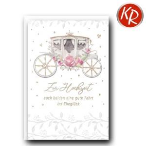 Faltkarte Hochzeit  51-0217