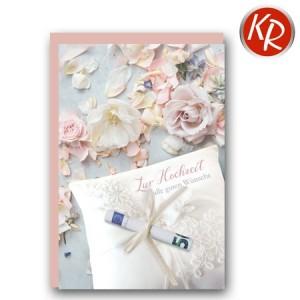 Geldscheinkarte Hochzeit  51-0218