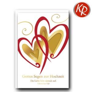 Faltkarte Hochzeit  51-0220