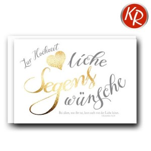 Faltkarte Hochzeit  51-0221
