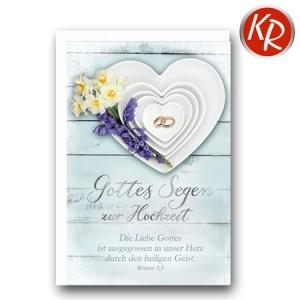Faltkarte Hochzeit  51-0222