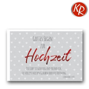 Faltkarte Hochzeit  51-0229