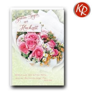 Faltkarte Hochzeit  51-0231