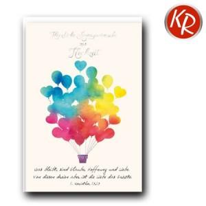 Faltkarte Hochzeit  51-0232