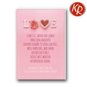 Faltkarte Hochzeit  51-0237