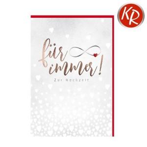 Faltkarte Hochzeit  51-0238