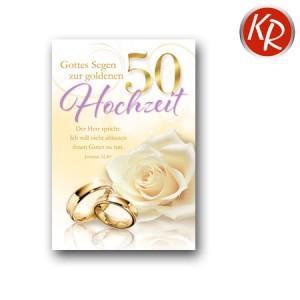 Faltkarte Goldene Hochzeit 53-0066