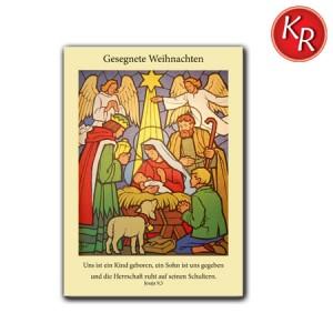 Postkarte Weihnachten 11-0007