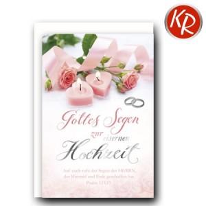 Faltkarte Eiserne Hochzeit 55-0012