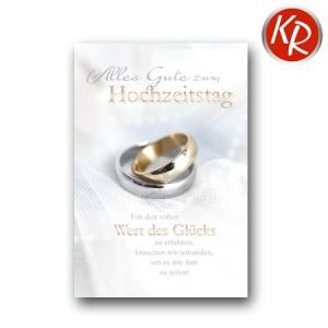 Faltkarte Hochzeitstag 56-0032