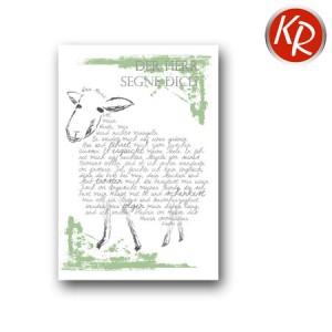 Faltkarte mit Spruch 60-0101