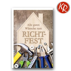 Faltkarte Richtfest 62-0043