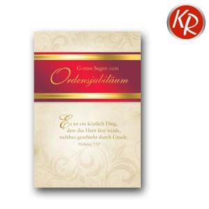 Faltkarte Ordensjubiläum 63-0019