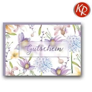 Faltkarte  Gutschein 65-0015