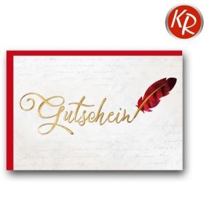 Faltkarte  Gutschein 65-0016